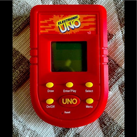 Handheld Uno game